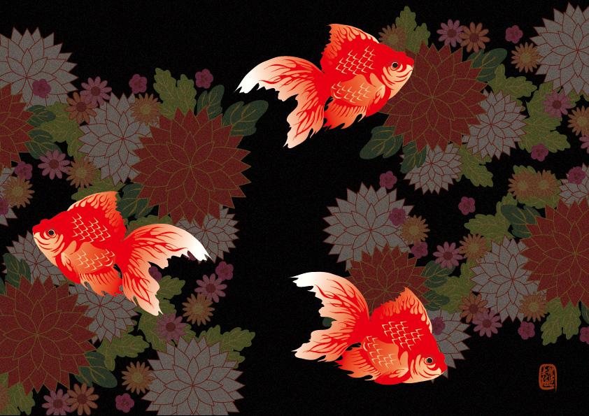 goldfish / Illustration bAbycAt