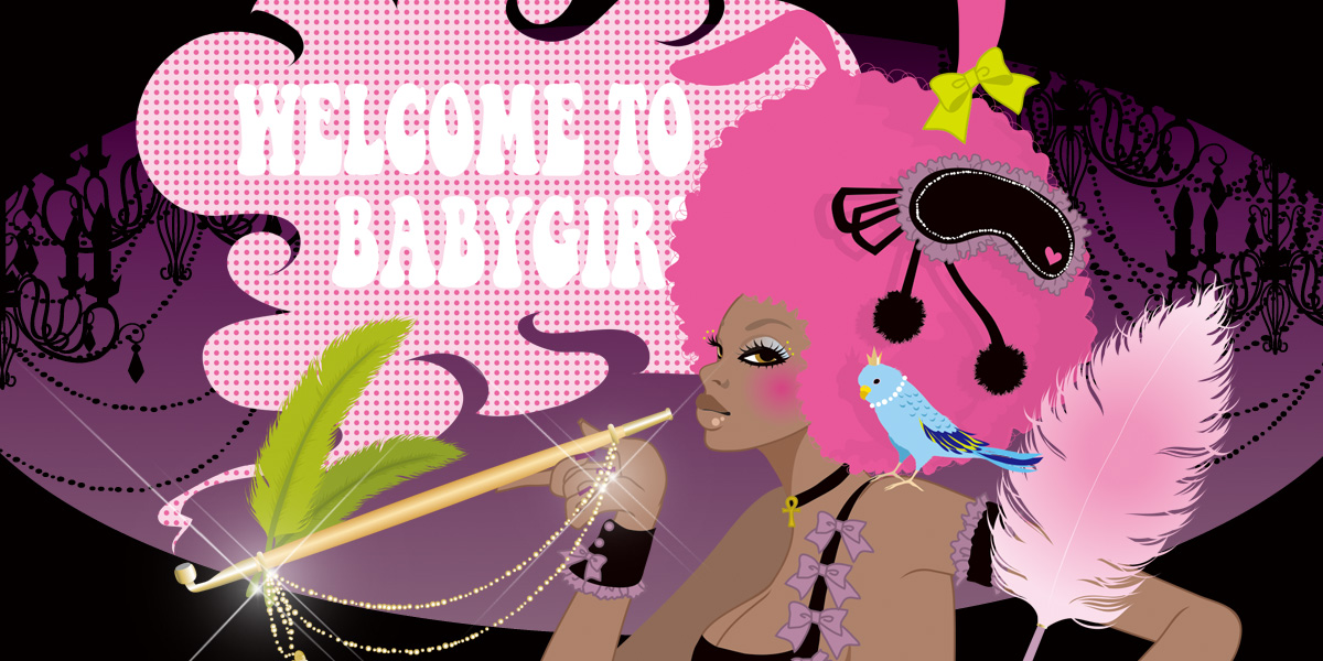 image visual / babygirl show
