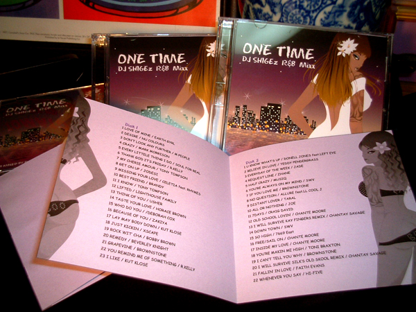 DJ SHIGE MIX CD 『ONE TIME』