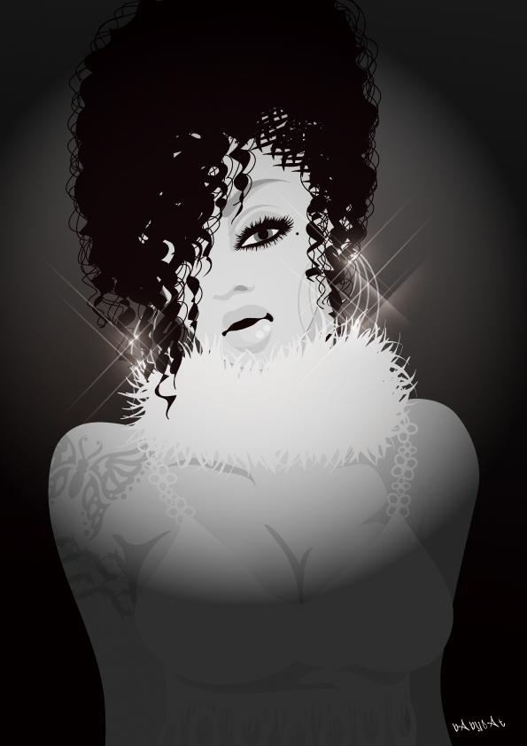 Girlz Be Glamorous / Illustration bAbycAt
