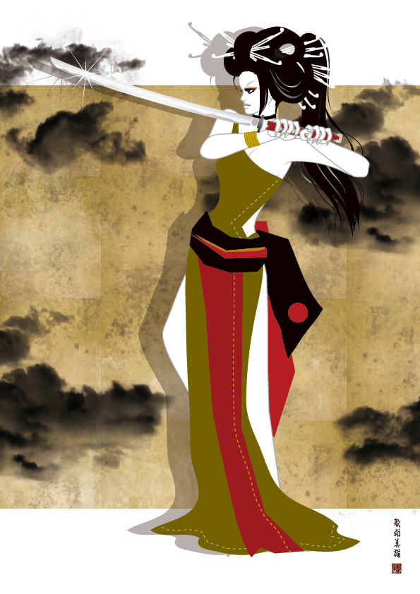 New Kimono Style / Illustration bAbycAt