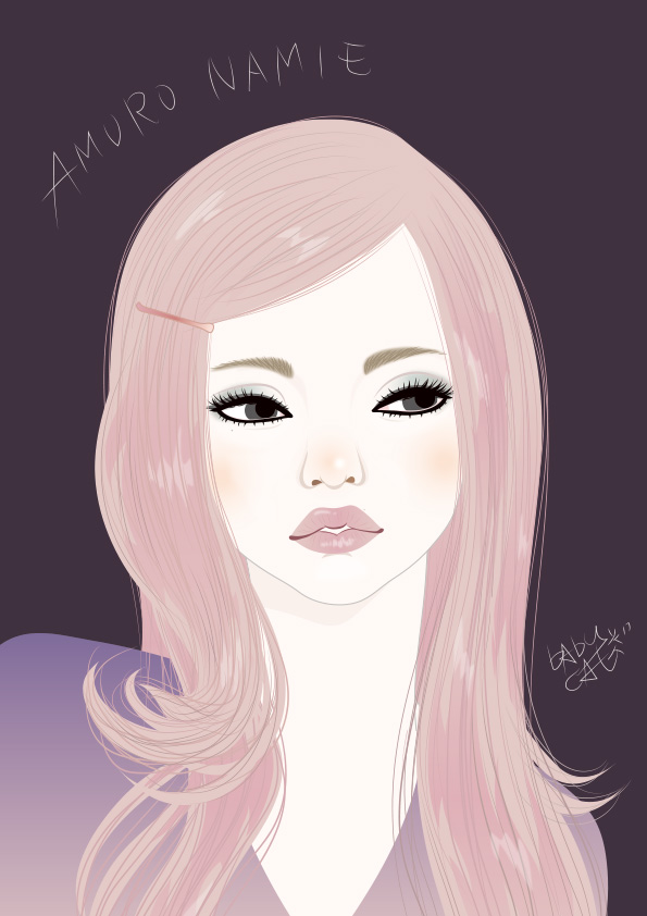 amuro namie / Illustration by bAbycAt