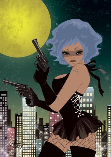 llustration / Lady Spy