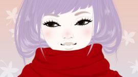 llustration / Autumn girl