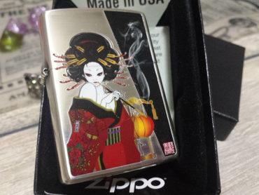 「煙管と女」ZIPPO