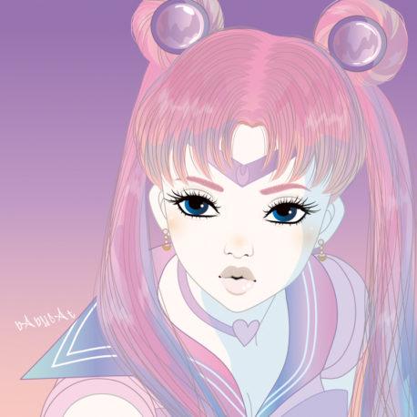 セーラームーン / illustration by bAbycAt