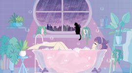 Illustration / rainy day